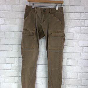 Stretchy BR cargo skinny pants